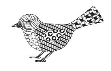 Doodle Tangles - Doodle Vogel