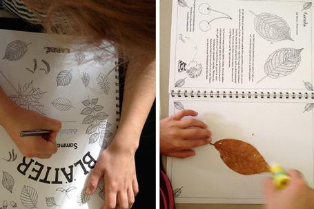 Blätterbuch