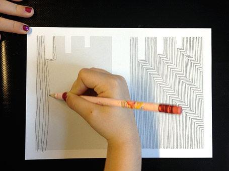 Linienspuren