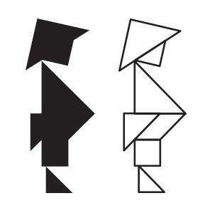 Tangram Figur