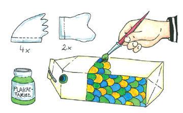 Basteln mit Milchkartons