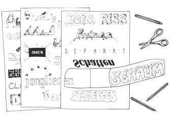 Wortbilder & Bilderworte - Anleitung