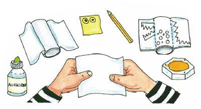 Drachen aus Papprollen basteln