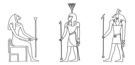 Die Götter Ägyptens