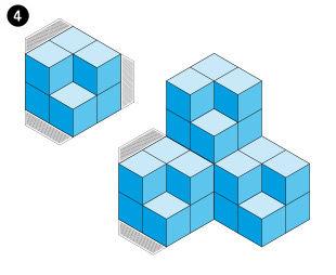 Die Würfel-Illusion