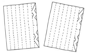 Anleitung - Scherenschnitt Papiersterne basteln