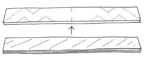 Anleitung - Scherenschnitt Goldsterne basteln