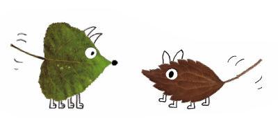 Blätter-Figuren