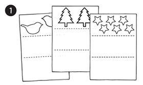 Anleitung Adventsketten basteln