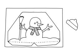 Pop-Up Karten - Winter Anleitung