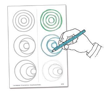 Formenzeichnen - Geometrische Formen