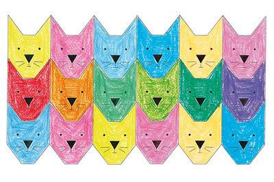 Tierparkett - Katzen