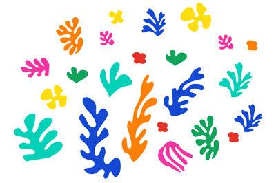 Matisse - Scherenschnitt Collagen