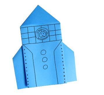 Origami-Fahrzeuge für Kinder