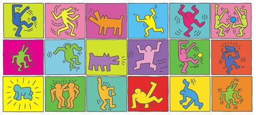 Keith Haring - Gruppenbild