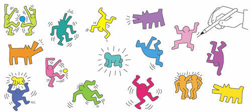 Keith Haring - Streubild