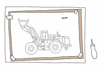 Baufahrzeuge - Pricken