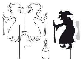 Schattentheater - Hänsel und Gretel - Anleitung