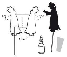 Schattenspiel - Sankt Martin - Anleitung