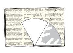 Anleitung für Eiskristalle aus Zeitungspapier