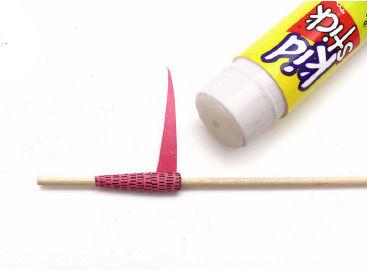 Anleitung zum Basteln von Papierperlen