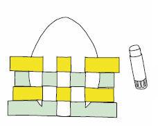 Anleitung zum Flechten von Flecht-Ostereiern