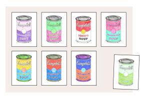 Anleitung - Pop-Art nach Andy Warhol