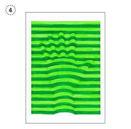 Anleitung - 3-Dimensionale Hände mit Linien zeichnen