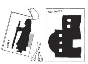 Schattentheater - Weihnachtsgeschichte - Anleitung