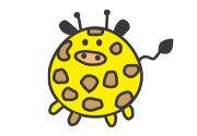 Süße Kawaii-Tierfiguren