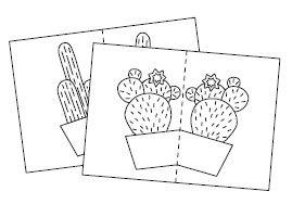 Anleitung - Kakteen aus Papier basteln