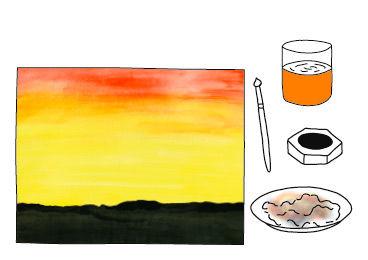 Safari - Arbeiten mit warmen Farben - Anleitung