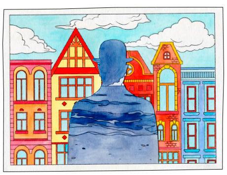 Anleitung für Collagen nach Rene Magritte