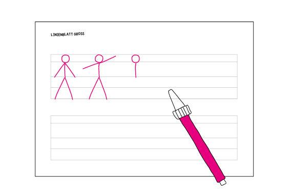 Strichmännchen zeichnen leicht gemacht!
