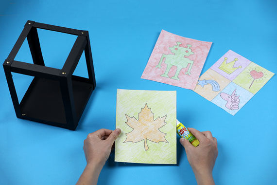 Anleitung: Andy Warhol Laterne basteln mit Kindern