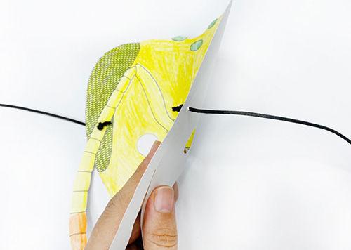 Anleitung - Falten von Origami-Tiermasken