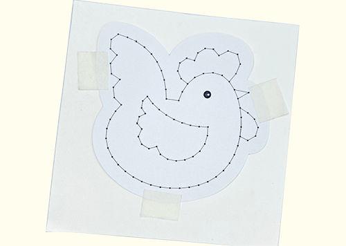 Anleitung Ostern-Stickbilder