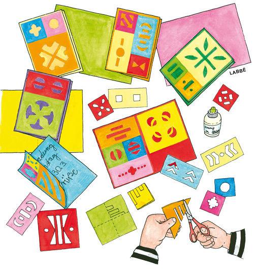 Kirigami-Karten