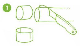 Servietten-Ringe mit Ostereiern