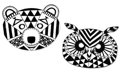 Ethno-Masken