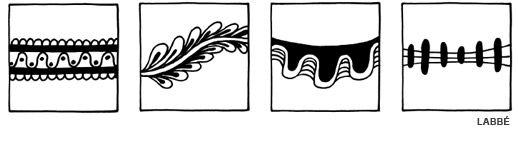 Doodle Rahmen - Beispiele