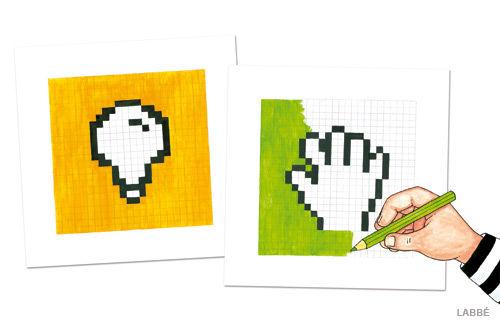 Pixel Bilder konstruieren