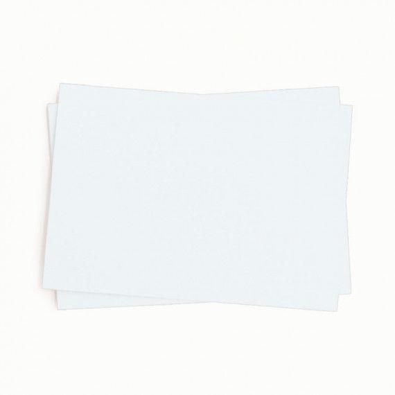 Tonpapier, einzeln, weiß