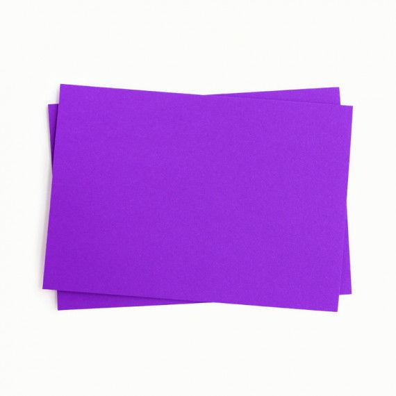 Tonpapier einzeln, violett