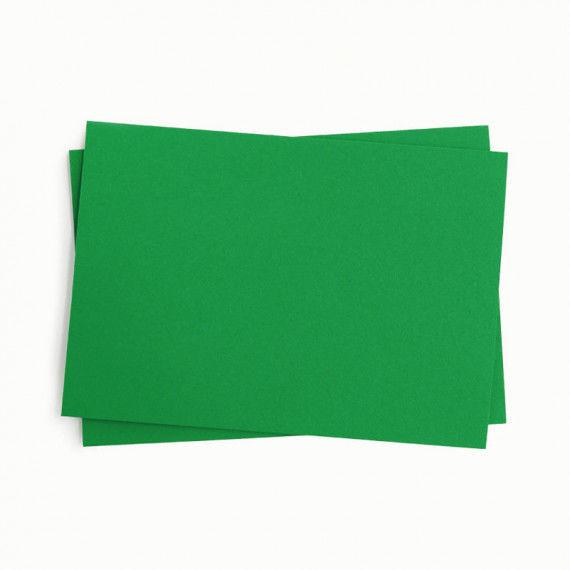 Tonpapier, einzeln, dunkelgrün