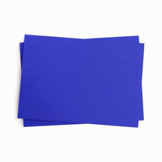 Fotokarton, einzeln, blau