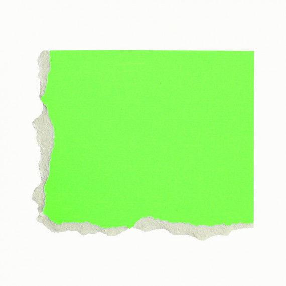 Plakatkarton, einzeln, grün