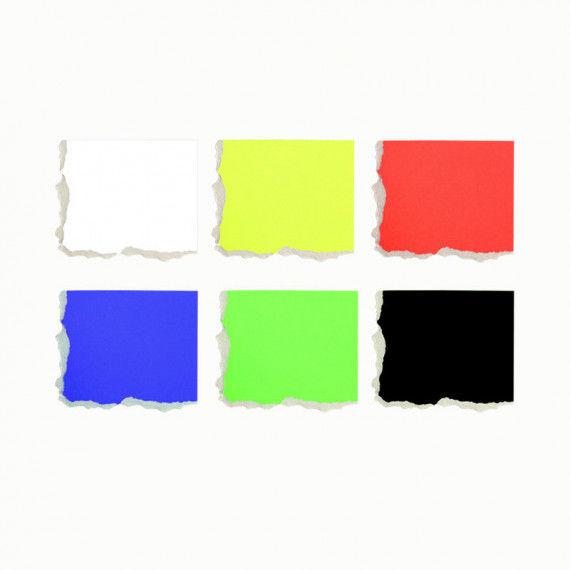 Plakatkarton in leuchtenden, lichtbeständigen Farben