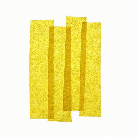 Seidenpapier, 50 x 70 cm, 26 Bogen, gelb