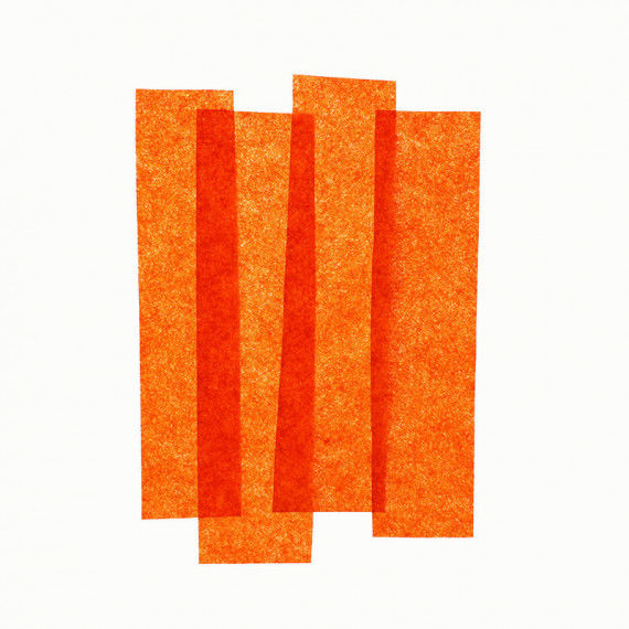 Seidenpapier 26er Pack, orange